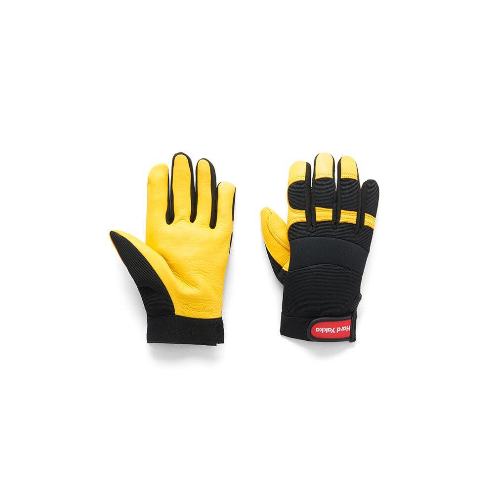 Hard Yakka Golden Hawk Deer Grain Glove